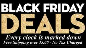 Clock Sale Now