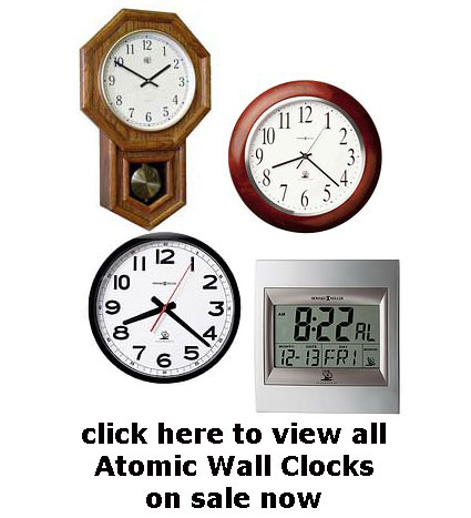 Atomic Wall Clocks On Sale Now