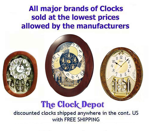 Musical Clocks on Sale