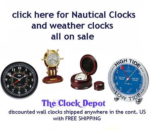Seth Thomas Nantucket Wmh1041 Wall Clock