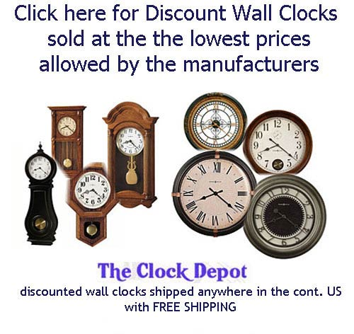 click here for all wall clocks on sale