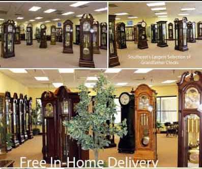 Clock Showroom in Durham, North Carolina
