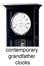 click here for contemporary grandfather clocks