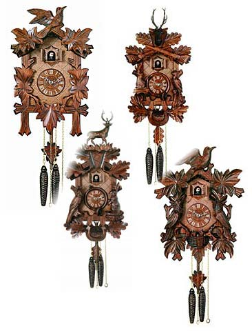 view all black forest cuckoo clocks with special pricing