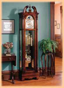 Home decorating with grandfather clocks from the clock depot for Great home decor sites