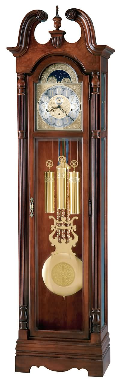 High Res Image Howard Miller Metcalf Grandfather Clock
