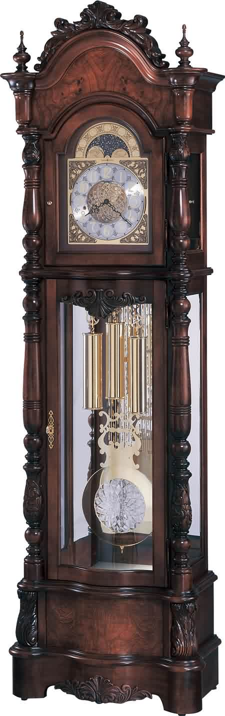 High Res Image Veronica Grandfather Clock At The Clock Depot