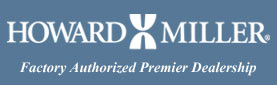 Authorized Howard Miller Dealer - -Click to view the dealer award.
