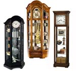 Howard Miller Curio Grandfather Clocks
