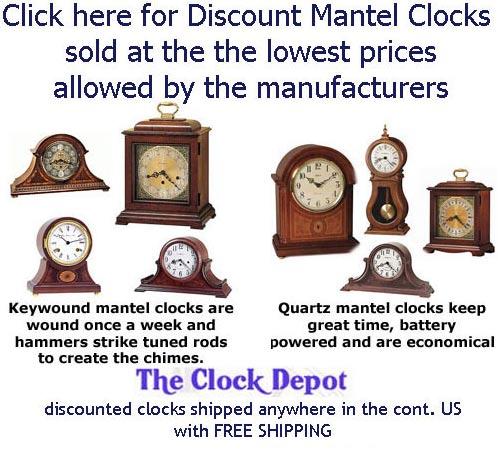 Cheap mantel clocks sale