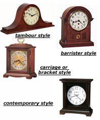 Mantel Clock Styles