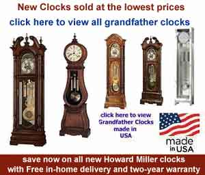 Howard Miller Grandfather Clocks