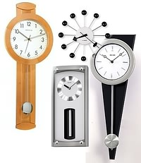contemporary and modern wall clocks