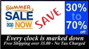 Clock Sale Now