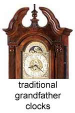 Click Here for Traditional Grandfather Clocks