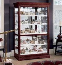 Wonderful Village Curio Cabinets