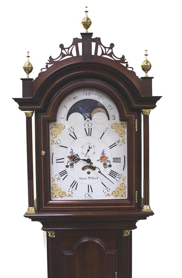 Pre Owned Sligh Simon Willard 0861 1 Sw Grandfather Clock