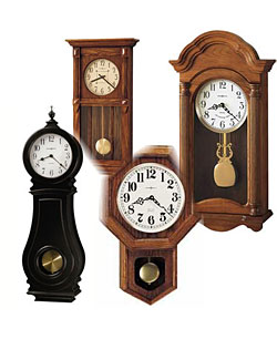 Battery Operated Pendulum Wall Clocks