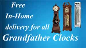Free Delivery Grandfather Clocks