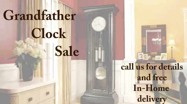 Grandfather Clock Specials